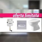 Set rezervor ingropat Geberit+vas wc Sanindusa