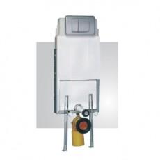 Set rezervor wc ingropat Kombifix cu clapeta cromata